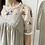 Thumbnail: #42074 floral embroidery mesh top
