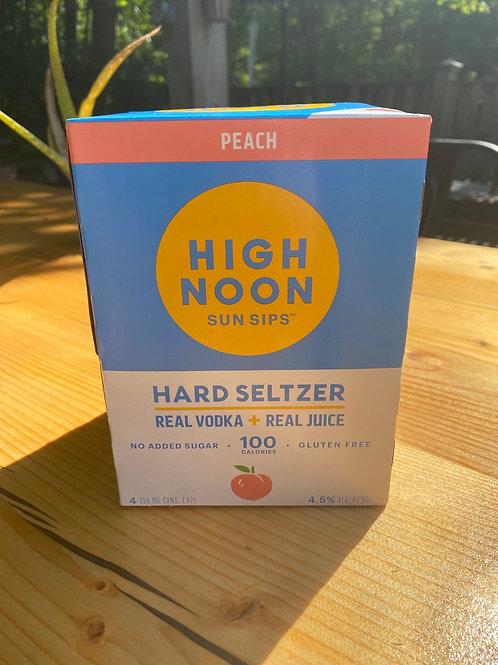High Noon Peach 4 Pack