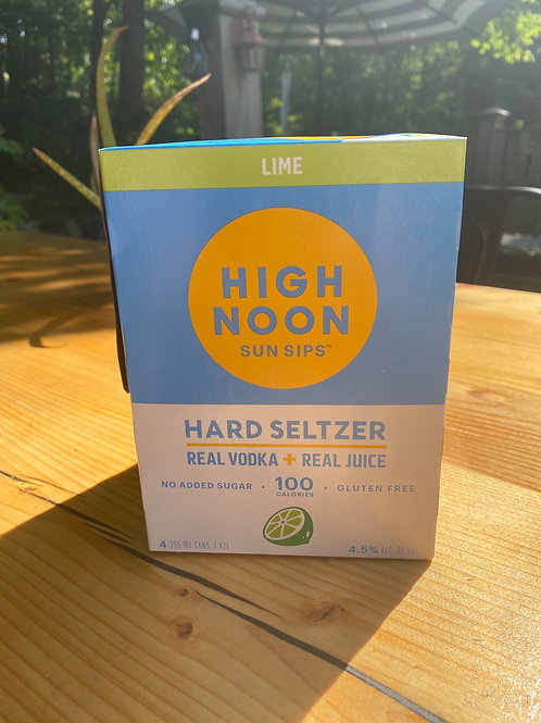 High Noon Lime 4 Pack