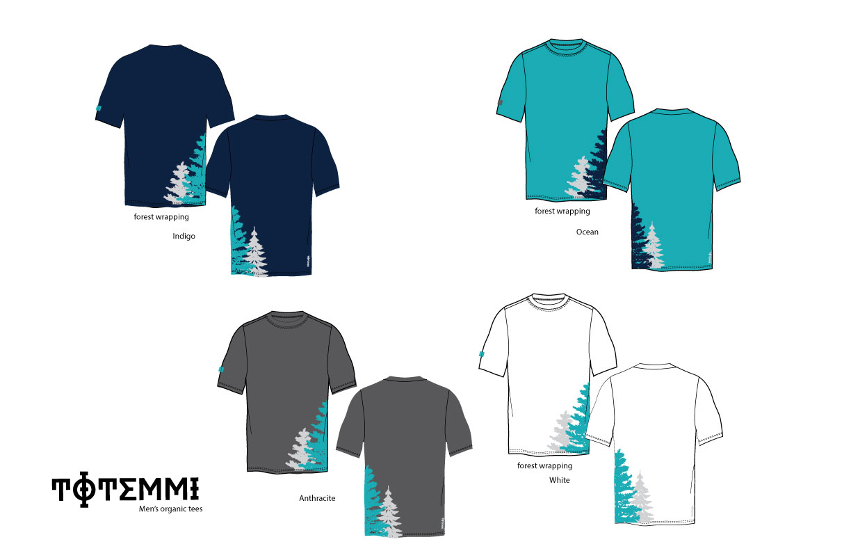 Totemmi Mens-t-shirt color board