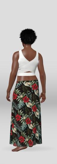 TerrI L Design Dress  White top (1)_blac