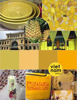 Vietnam Color Board