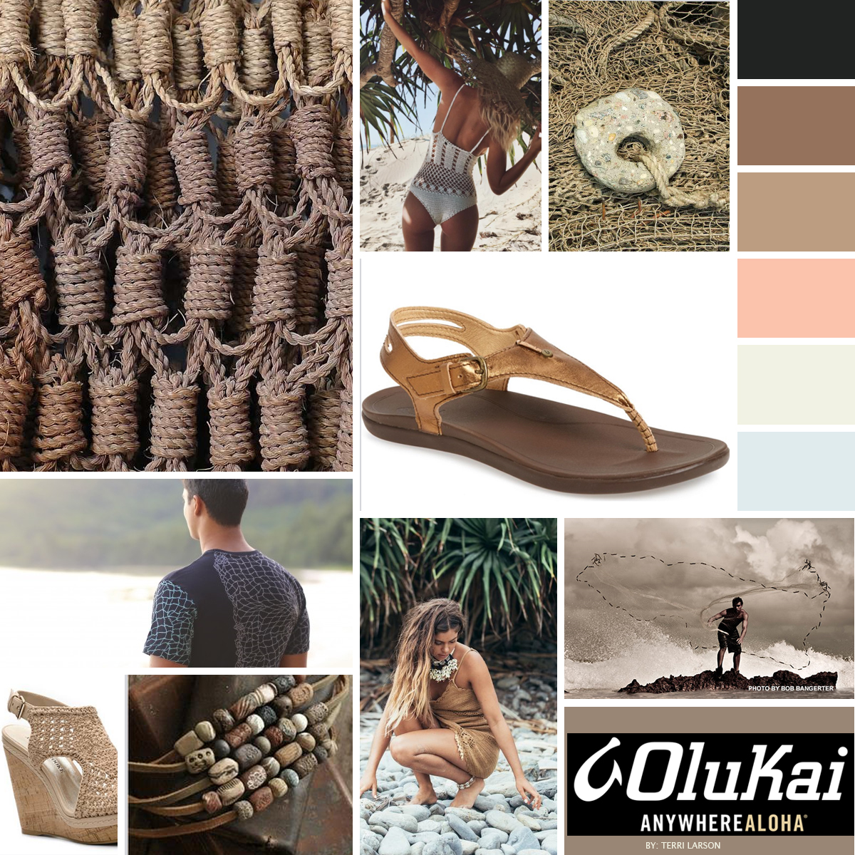 Olukai mood board