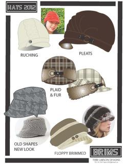 Brim hat design