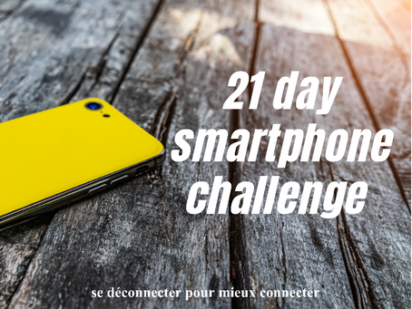21 day smartphone challenge