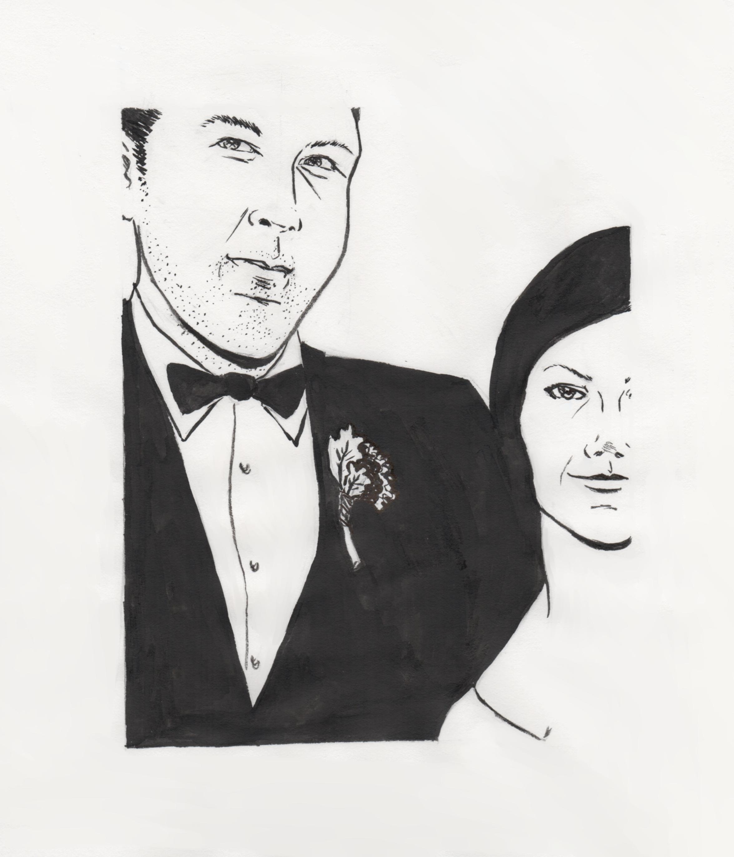 Wedding portrait com