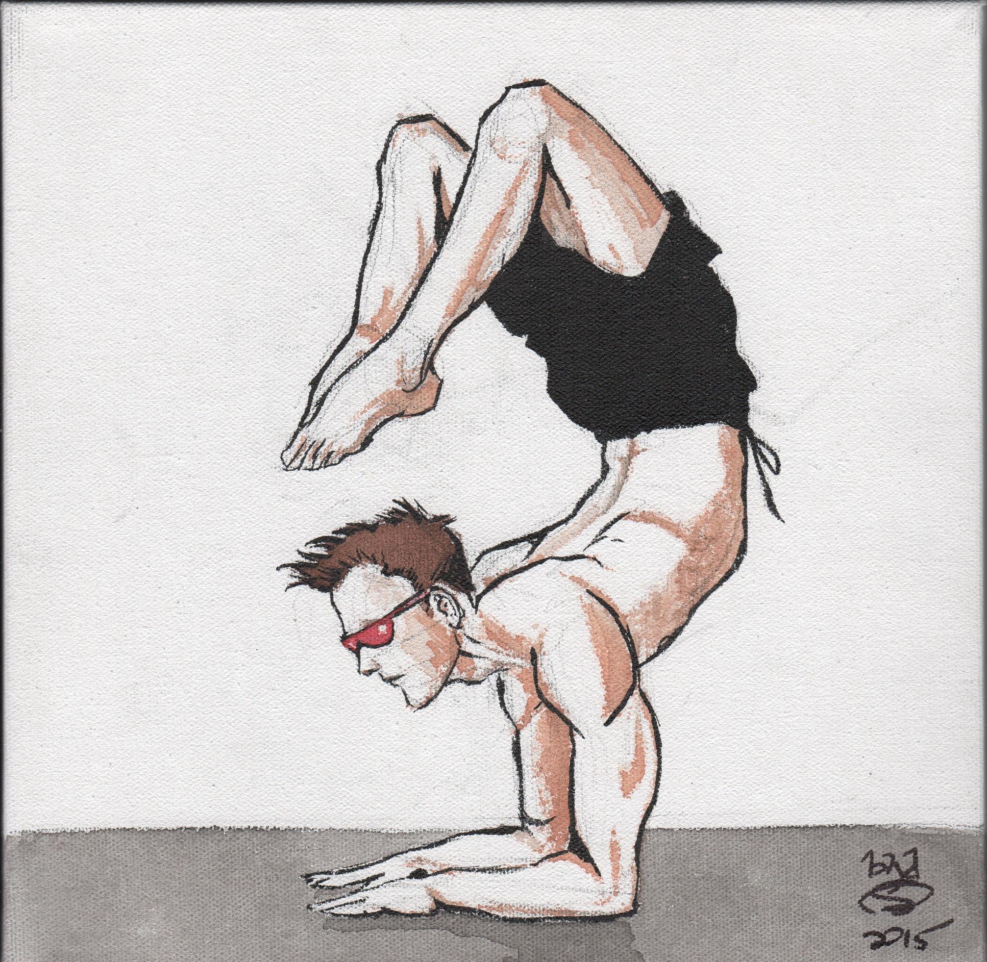 Heroic yoga series