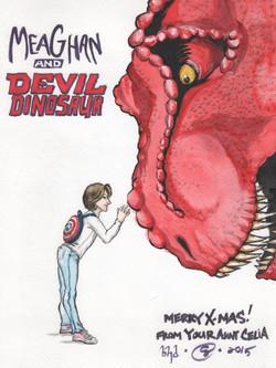 Devil Dinosaur & Meaghan