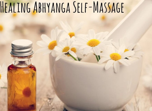 Abhyanga Daily Self Massage