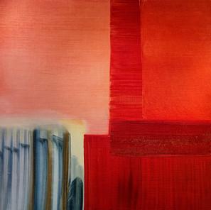 Rouge carré (80x80 cm)