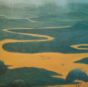 R. Tamanini Netto - (Brésil) - Chuva sul Amazonia - 60x80 cm