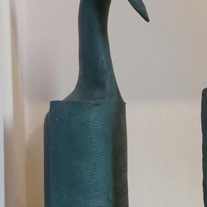 Bertrand L. - (France) - Sorti de l'oeuf - Céramique
