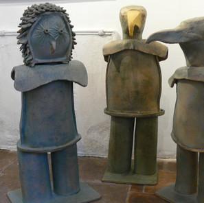 Bertrand L. - (France) - Les Wazi - Céramique