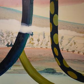 Les pénitents (72x90 cm)