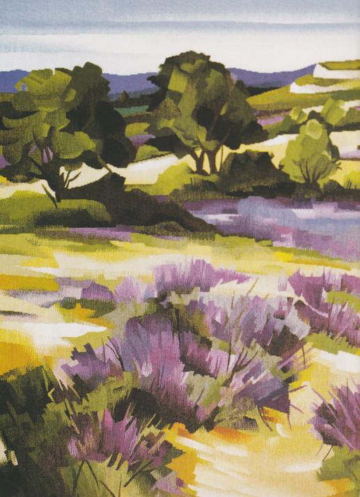Sous le ciel de haute Provence