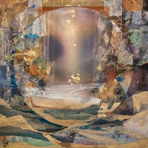 Mandala II (100x100 cm)