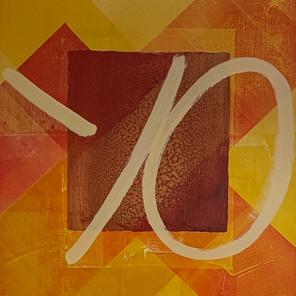 Bacille du carré (55x46 cm)