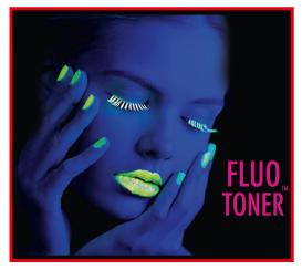 Impresion con toner fluor