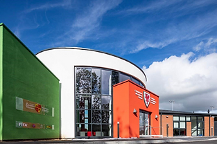 Photograph of Colliers national football training development centre building