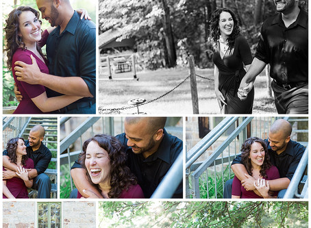 Mill of Kintail Engagement Session - Katie & Jon
