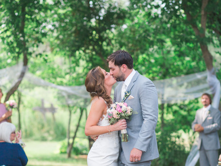 The Herb Garden Wedding - Stephanie & Matt