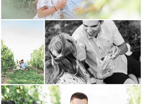 Kin Vineyards Engagement Session - Lauren & Ty