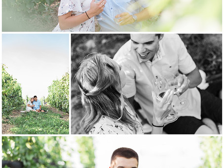 Kin Vineyards Engagement Session - Lauren & Ty