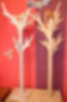 Meuble bois massif  bio - Porte manteau enfant