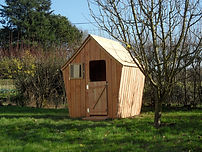Meuble bois masssif bio - Grande cabane bois massif