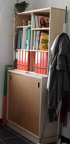 Meuble bois massif bio - meuble bureau