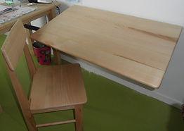 Meuble bois massif bio - Table d'appoint