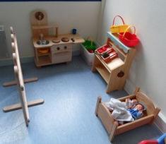 Mobilier crèche - Aménagement - Espace cuisine enfant