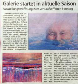 """""""die kleine galerie"""" Steinfeld"""