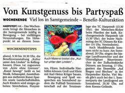 Benefizveranstaltung, Kellinghausen