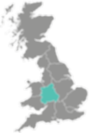 West Midlands Procure Partners UK map Br