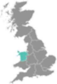 North Wales Procure Partners UK map Broc
