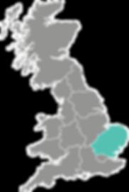 East of England Procure Partners UK map