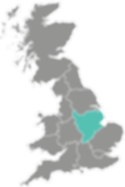 East Midlands Procure Partners UK map Br