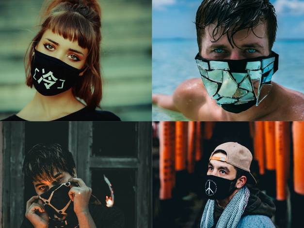CoronaVirus Mask: Look Fashionablein your Gear