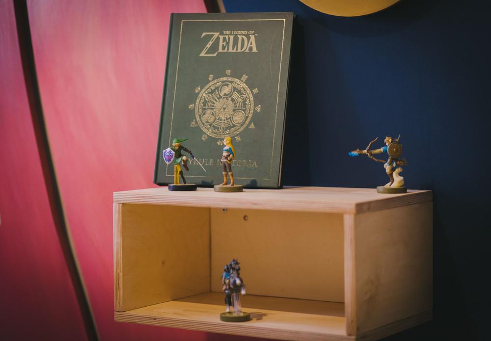 Detalle Zelda