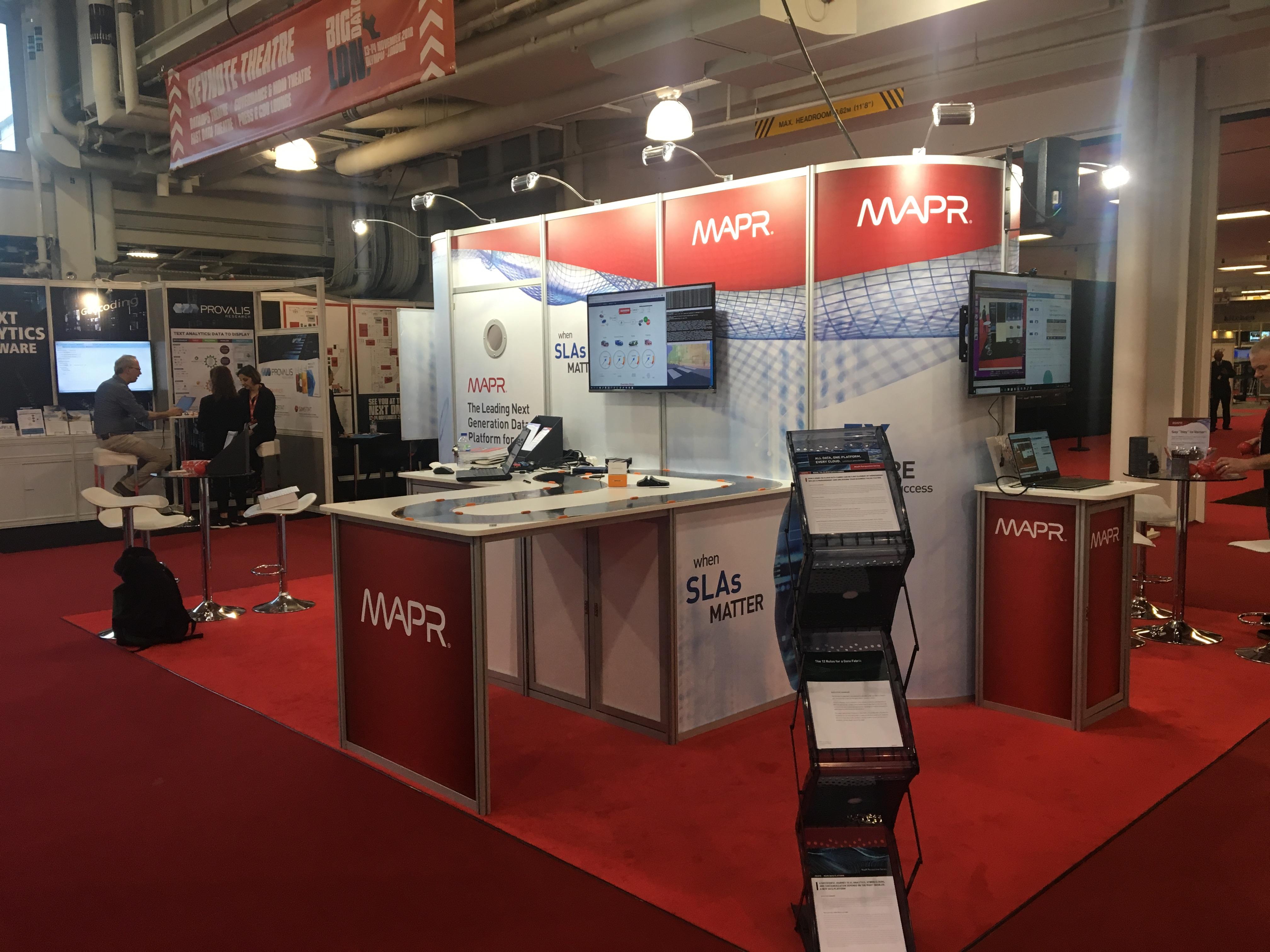 MapR Exhibition Stand