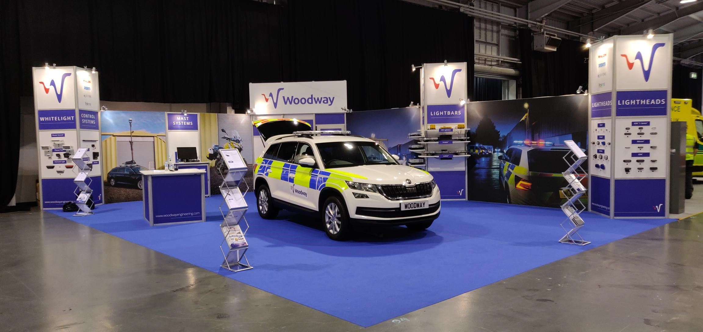 Woodway Exhibition Stand