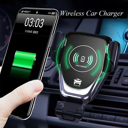 Wireless Charger Phone Holder Car Accessories Ornaments