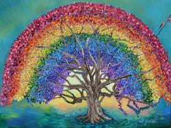 Somewhere Over The Rainbow, 30x40,Debbie