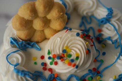 CAKE BATTER TEA CAKES (Dozen)