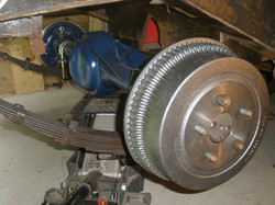 slide 4 - rear axle assembly install