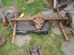 slide 2 - rear axle removal