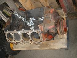 slide 2a - removed 327 engine