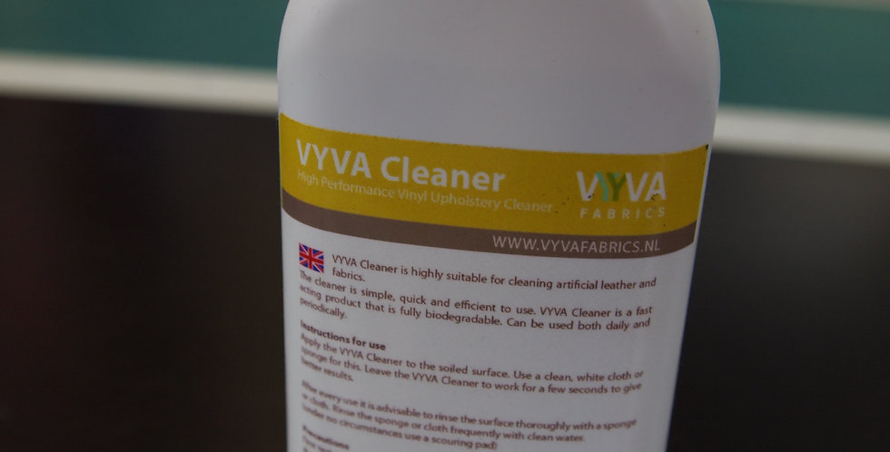 Vyva Fabrics Vynil cleaner