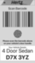QR code Identification Tag Mockup